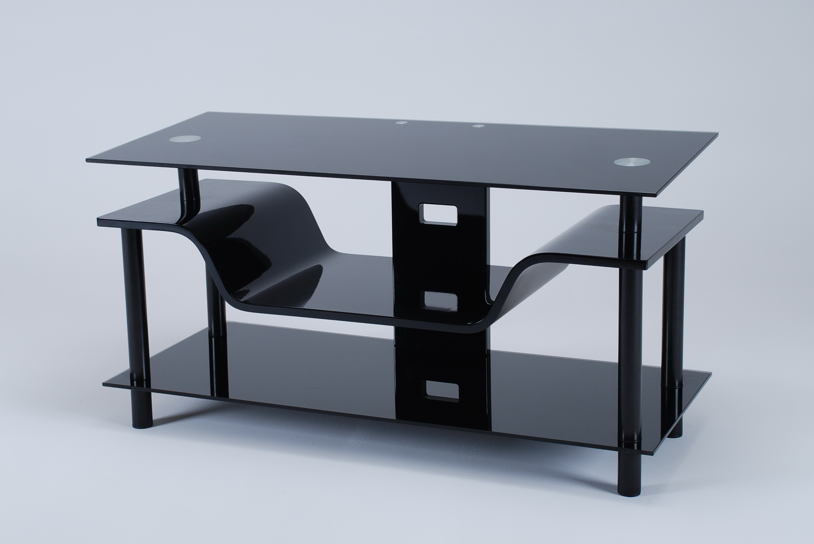 TV Stands: Plasma in Glass, Metal, Wood